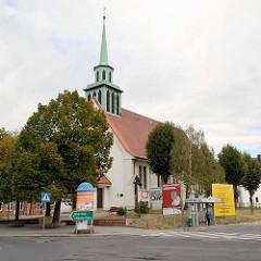 St. Bonifatiuskirche in Zgorzelec - römisch katholische Kirche, auch Garnisonskirche - 1930 eingeweiht, Architekt Bernhard Sander.