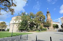 Kaisertrutz und Reichenbacher Turm - alte Befestigungsanlagen in Görlitz.
