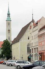 Dreifaltigkeitskirche von Görlitz - evangelische Kirche als Klosterkirche des Franziskanerklosters errichtet.