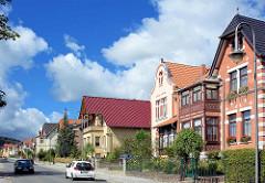 Villenviertel in Blankenburg / Harz; Villa aus der Gründerzeit.