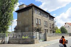 Historisches Krankenhausgebäude St. Salvator in Halberstadt.