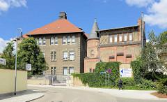 Historische Krankenhausgebäude St. Salvator in Halberstadt.