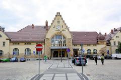Bahnhof von  Świdnica / Schweidnitz;