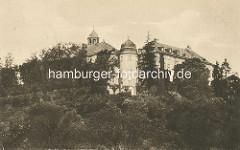 Historische Aufnahme vom Schloss in Blankenburg - barocke Residenz für Herzog Ludwig Rudolf von Braunschweig-Wolfenbüttel - Ausführung Landbaumeister Hermann Korb.