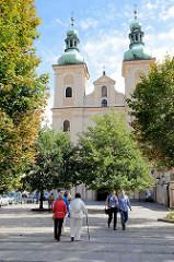 Minoritenkirche St. Maria (Kościół Matki Bożej Różańcowej) in Kłodzko / Glatz , erbaut von 1628 bis 1631.