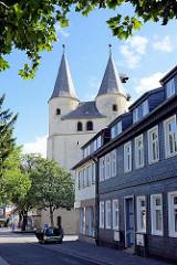 Jakobikirche in Goslar - Ursprungsgebäude ehem. Basilika von 1073.