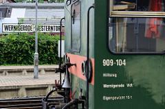 Bahnhof Wernigerode - Westerntor; Waggon Hilfszug.