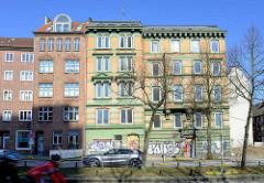 Geplanter Abriss für März 2016 - Gründerzeithäuser in der Breiten Strasse, Altona Altstadt.