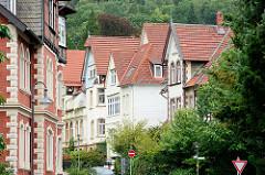 Villenarchitektur, Steinbergstrasse in Goslar.