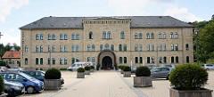 Schlosshotel in Blankenburg - ehem. Kaserne, erbaut 1860 - Entwurf Baurat Carl Heinrich Wilhelm Wolf.