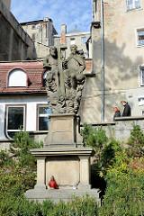Skulptur Dreieinigkeit / Dreifaltigkeit / Trinität in Kłodzko - Glatz.