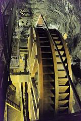 Wasserförderanlage / Wasserrad - Bergwerk Rammelsberg / Goslar.