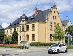 Gebäude vom Amtsgericht Wernigerode - Baustil Neorenaissance, erbaut 1893.