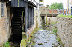 Alte Lohmühle an der Abzucht in Goslar - älteste mit Wasserkraft betriebene frühere Ölmühle in Deutschland.