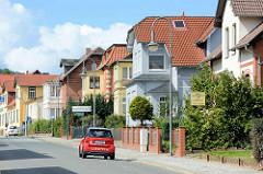 Villenviertel in Blankenburg / Harz; Villen / Familienhäuser aus der Gründerzeit.