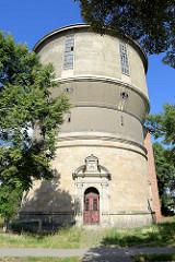 Wasserturm an der Wernigeroder Strasse in Halberstadt, erbaut 1881.