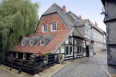 Gebäude Alte Worthmühle an der Abzucht in Goslar.