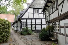 Gebäude vom Kloster Frankenberg in Goslar, jetzt Altenstift der Christengemeinschaft.