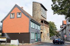 Weberturm in Goslar - Teil der alten Stadtbefestigung um 1280 errichtet.