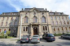 Gebäude vom Amtsgericht / Bezirksgericht in Kłodzko / Glatz.