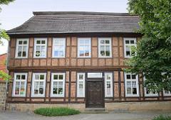 Historisches Fachwerkgebäude in Halberstadt - Nutzung als Kindergarten.