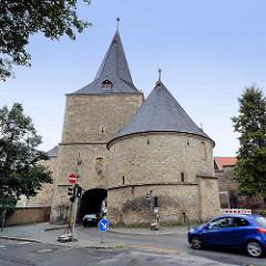 Breites Tor in Goslar - das Tor war im Spätmittelalter das bedeutendste Stadttor von Goslar; es wurde im Jahre 1443 errichtet.