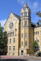 Ratsgymnasium Goslar - Gründung 1528; neoromanisches Schulgebäude 1888 errichtet; Architekt Hubert Stier.