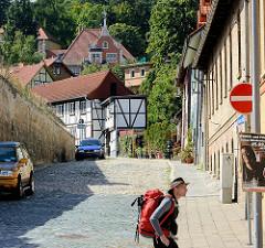 Wohnhäuser, Fachwerkvilla in Blankenburg.