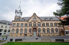 Ansicht des Gebäudes der Königlichen Post / Rosentorstrasse in Goslar.