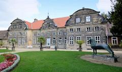 Gartenhaus, errichtet um 1725 - Kleines Schloss in Blankenburg.
