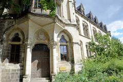 Eingang vom Gerhart Hauptmann Gymnasium Wernigerode -