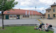Bahnhof der Harzer Schmalspur Bahn in Wernigerode.