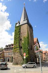 Stadtbefestigung in Wernigerode - Westerntor.
