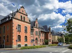 Verwaltungsgebäude - Backsteinarchitektur, Rudolf-Breitscheid-Straße in Wernigerode.