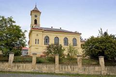 Kirchengebäude in der Stadt Mělník / Melnik in Tschechien.