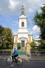 Evangelische Kirche in  Nymburk / Neuenburg an der Elbe.
