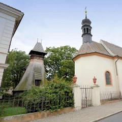 St. Ludmilla Kirche in Melnik, erbaut 1583