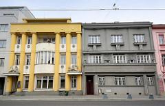 Wohnhäuser der Stadt Hradec Králové / Königgrätz; Architektur der 1920er / 1930er Jahre.