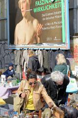 Faszination Wirklichkeit - Flohmarkt auf der Sternschanze, Areal vom ehem. Hamburger Schlachthof.