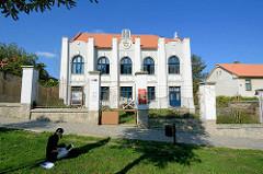 Alte Synagoge in Kutná Hora / Kuttenberg, Jugendstil Architektur - erbaut 1902, Architekt  Bohuslav Moravec; heute Gotteshaus der Hussitischen Kirche.