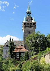 Lindenbeinturm / Sternkiekerturm, alte Anlage der Stadtbefestigung in Quedlinburg.
