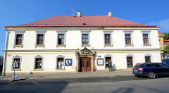 Gebäude vom Dekanat in Dvůr Králové nad Labem / Königinhof an der Elbe.