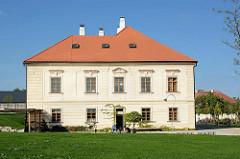 Gartenareal om Jesuitenkollege in Kutná Hora / Kuttenberg.