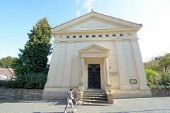 Kirchengebäude - evangelische Kirche der Böhmischen Brüder / Českobratrský evangelický in Kutná Hora / Kuttenberg.