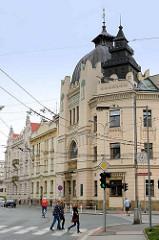 Synagoge in Hradec Králové / Königgrätz - Maurischer Baustil, erbaut 1905; Architekt  Wenzel Weinzettel.