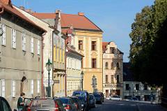 Architektur in Kutná Hora / Kuttenberg - Wohnhäuser / Geschäftshäuser.