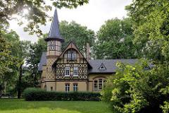 Gebäude vom alten Wasserwerk in Quedlinburg - erbaut um 1885, Planung Ingenieur Salbach.