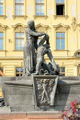 Denkmal des Widerstands - Dvůr Králové nad Labem / Königinhof an der Elbe.