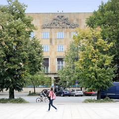 Expressionistische Architektur der 1920er Jahr - Neues Bauen; Architektur in Hradec Králové / Königgrätz.