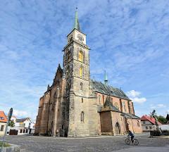 St. Ägidien Kirche in  Nymburk / Neuenburg an der Elbe